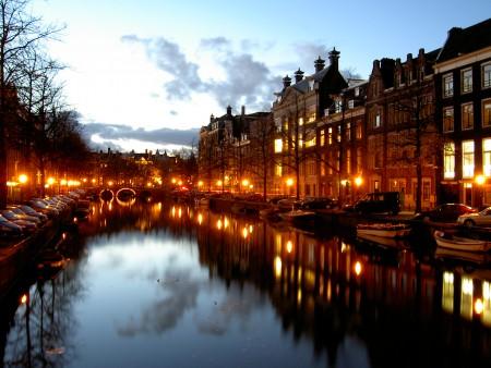 Βόλτα στο κέντρο του Άμστερνταμ