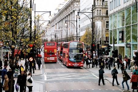 Οδηγώντας στο Λονδίνο