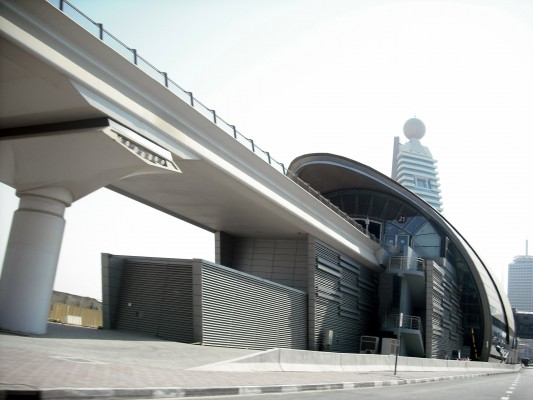 Στο ΜΕΤΡΟ του Ντουμπάι