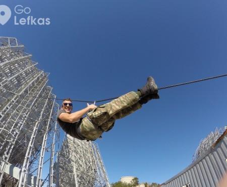 Καταρρίχηση στην εγκαταλελειμμένη ΝΑΤΟϊκή βάση της Λευκάδας