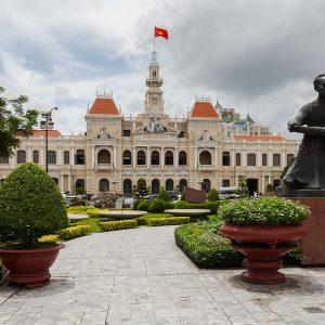 Περπατώντας στη Χο Τσι Μιν (Σαϊγκόν)